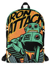 """IRON ATTACK"" Backpack by Skelly & Co (Black)"