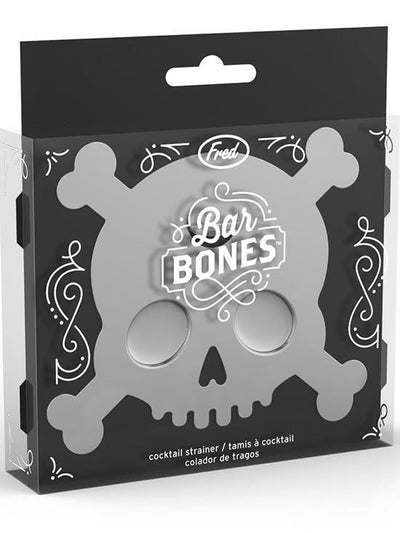 """Bar Bones"" Cocktail Strainer by Fred & Friends - www.inkedshop.com"