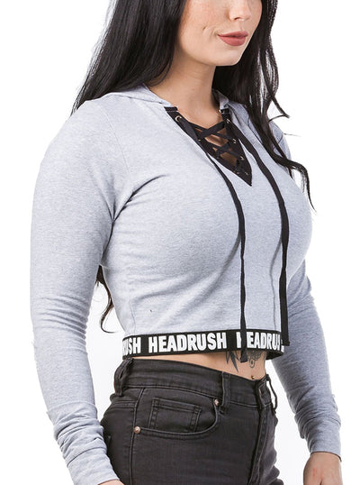Women's Ivan Crop Hoodie by Headrush Brand