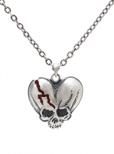 """Deathlove"" Necklace by Pacific Trading - www.inkedshop.com"