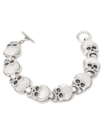 """Skull"" Bracelet by Pacific Trading - www.inkedshop.com"