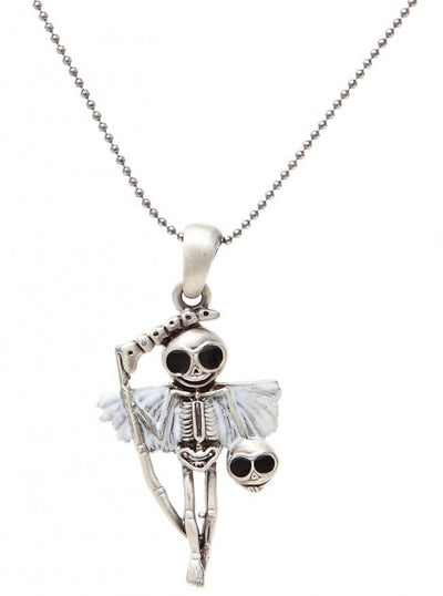 """Reaperman Skelly"" Necklace by Pacific Trading - www.inkedshop.com"