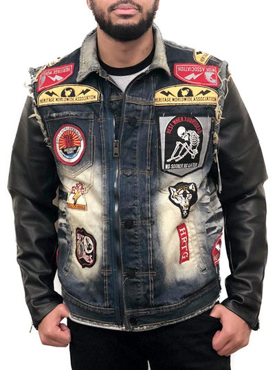 Men's Live To Ride Jacket (Denim)