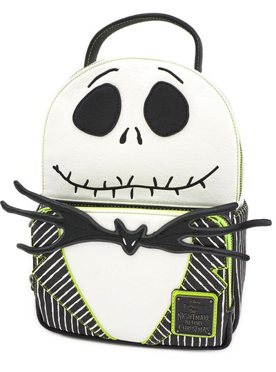 Nightmare Before Christmas: Jack Skellington Cosplay Mini Backpack by Loungefly