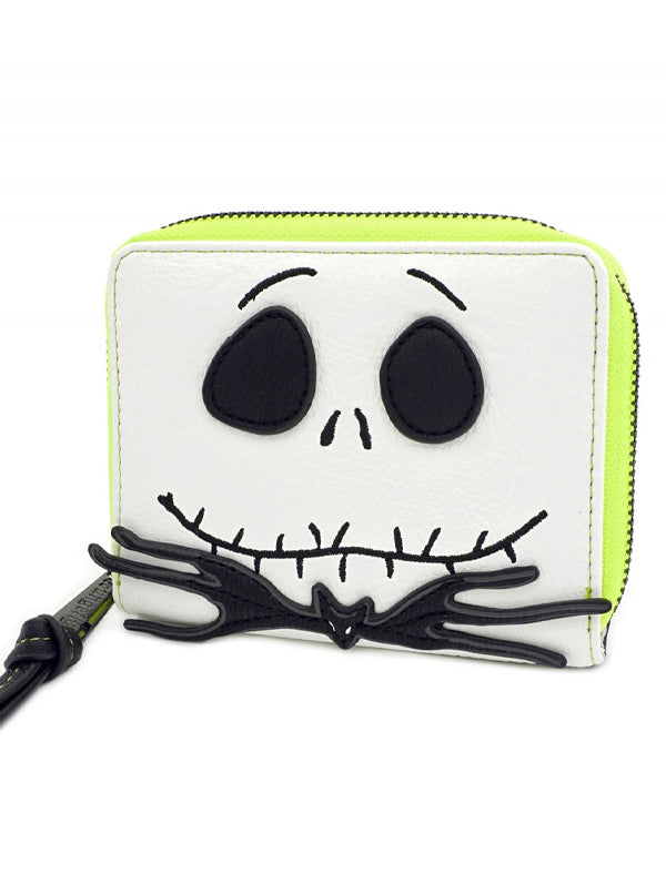 """Nightmare Before Christmas: Jack Skellington Cosplay"" Wallet by Loungefly (White)"