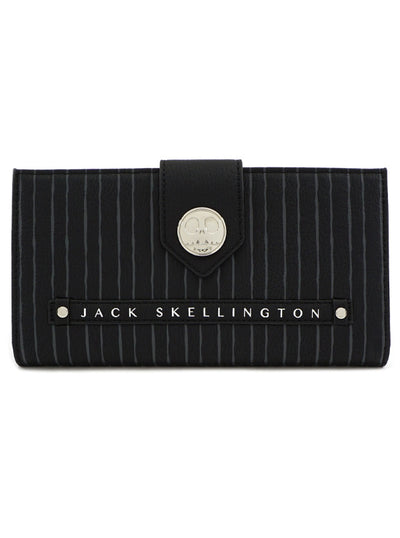 Nightmare Before Christmas: Metal Jack Flap Wallet by Loungefly