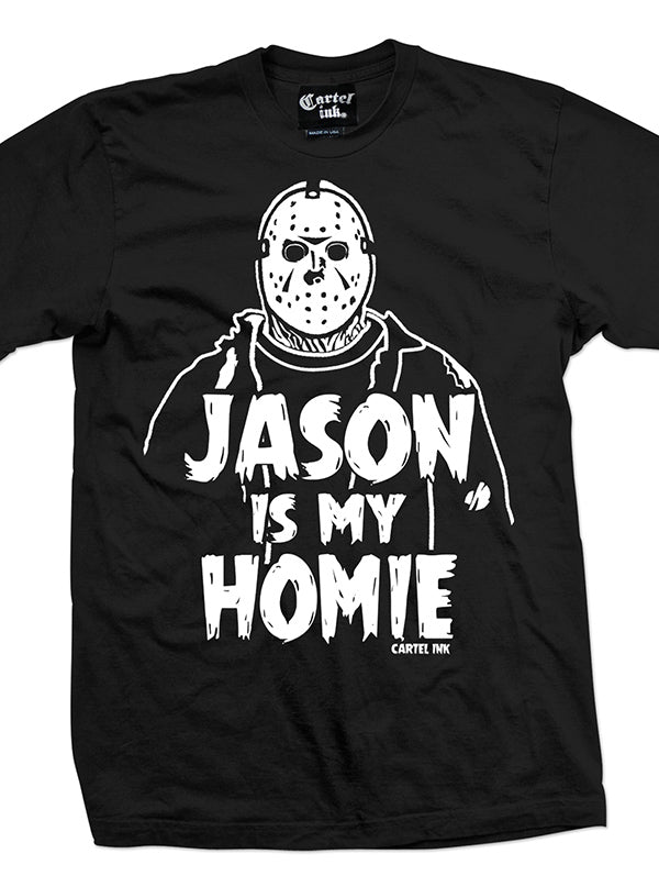 Men's Jason Is My Homie Tee by Cartel Ink