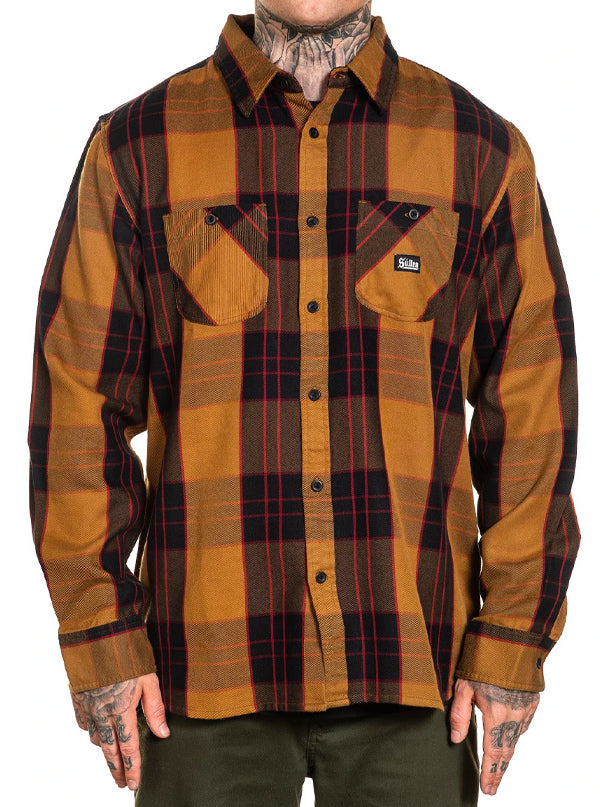 Men's Jobsite Flannel by Sullen