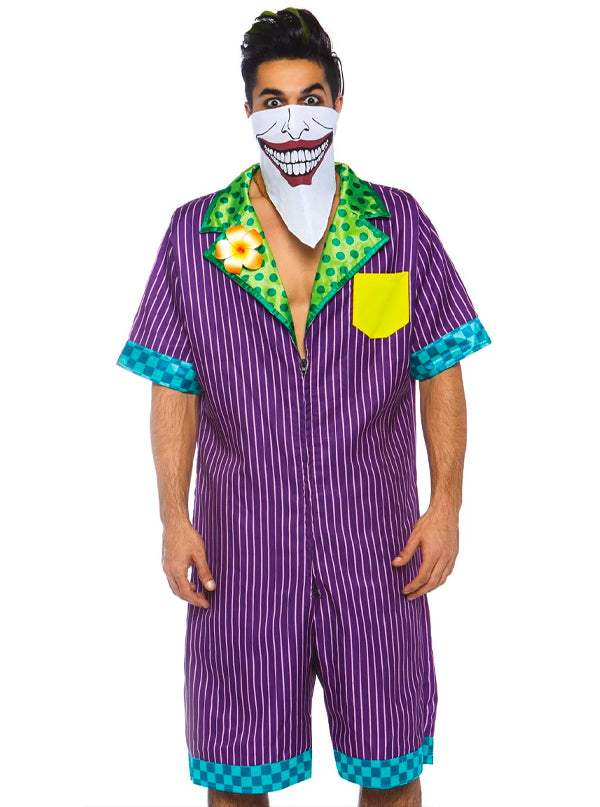 Men's Super Villain Costume by Leg Avenue (Purple)