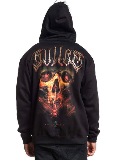 Men's Jorquera Badge Zip Hoodie by Sullen