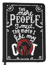 """People Suck"" Journal by Killstar (Black)"