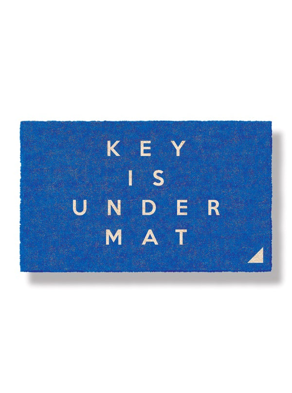 Keys Under Mat Doormat by Bison