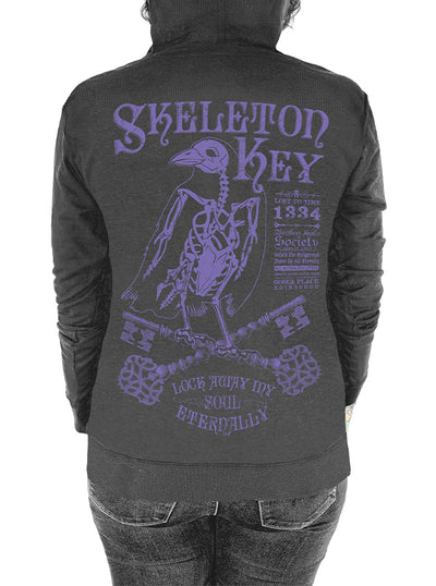Women's Skeleton Key Hoodie by Serpentine Clothing