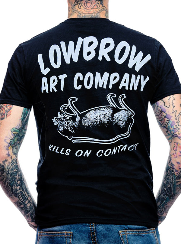 Men's Kills On Contact Tee by Lowbrow Art