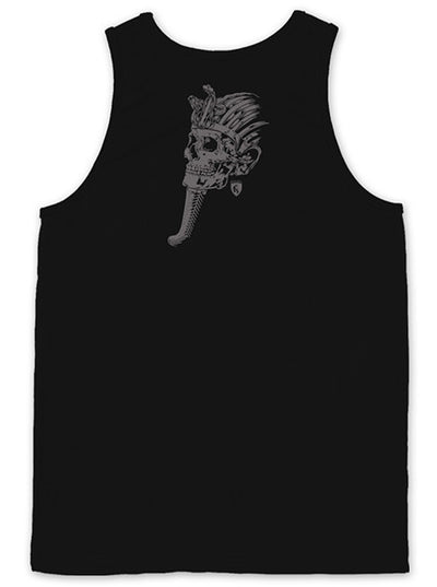"Men's ""King Tut Skull"" Tank by OG Abel (Black)"