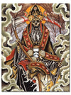 """King Reaper"" Watercolor Print by Derek Noble for Mindzai Creative - www.inkedshop.com"