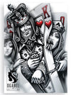 """Kingpin"" Sticker by OG Abel - www.inkedshop.com"