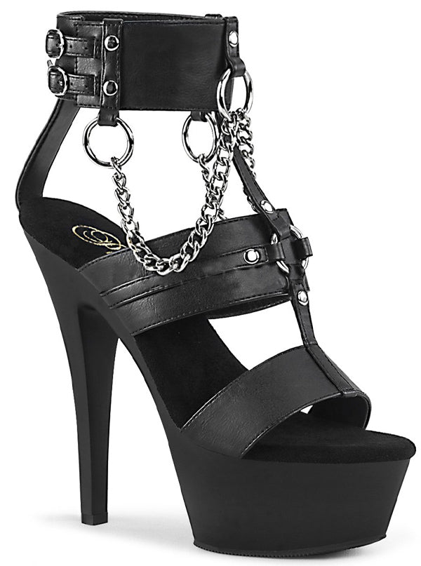Women's Kiss 261 Strappy Sandals by Pleaser