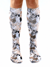 """Kitty"" Knee High Socks - www.inkedshop.com"