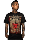 "Men's ""California Blood"" Tee by Kush Kills Clothing (Black) - www.inkedshop.com"