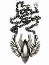 Bombs Away Necklace by Kitsch 'n' Kouture (Gun Metal) - www.inkedshop.com
