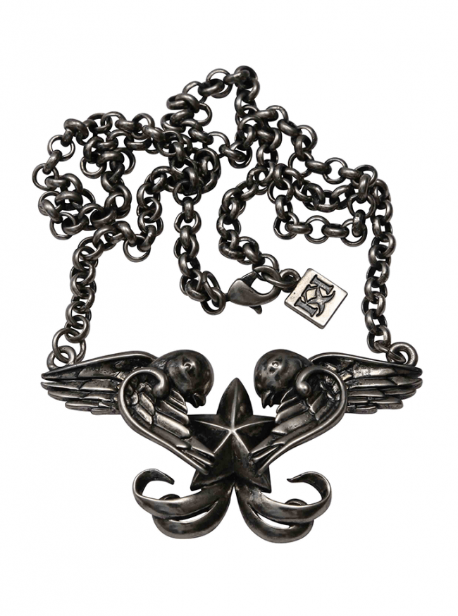 Swallows Necklace by Kitsch 'n' Kouture - InkedShop - 1