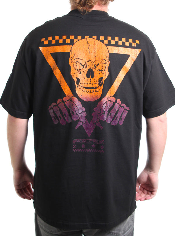 "Men's ""Knuckle Up"" Tee by Fatal Clothing (Black)"