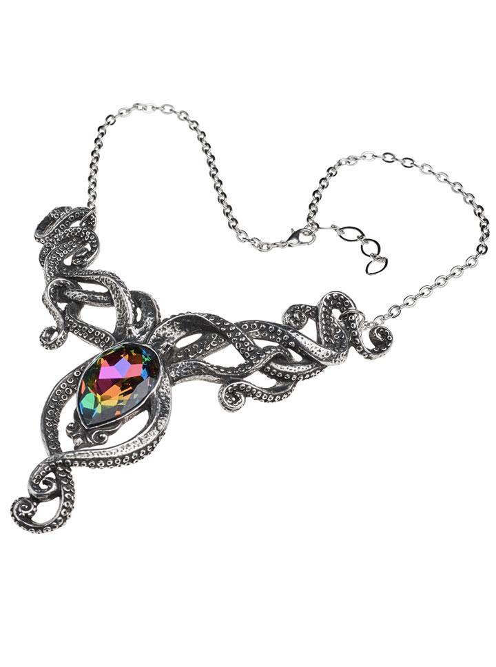 kraken necklace by alchemy of england inkedshop inked shop Your Heart On Sleeve Jewelry kraken necklace by alchemy of england