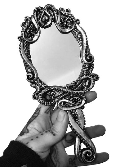Kraken Hand Mirror by Alchemy of England
