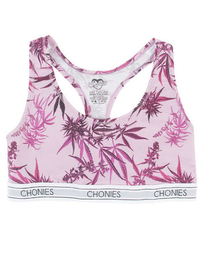 Women's Strawberry Kush Sports Bra by Chonies