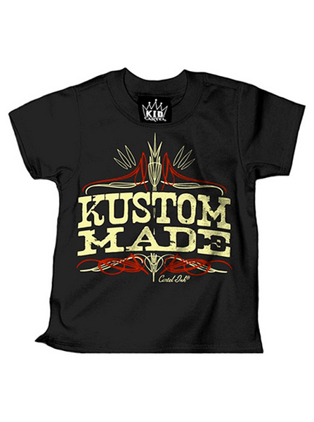 "Kid's ""Kustom Made"" Tee by Cartel Ink - InkedShop - 1"