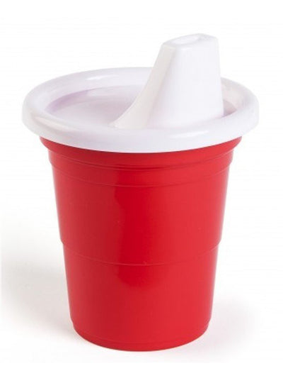 """Party Time"" Sippy Cup (Red) - www.inkedshop.com"