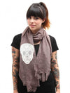 """Lace Skull"" Scarf (More Options) - www.inkedshop.com"