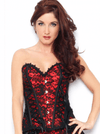 "Women's ""Lace Overlay"" Corset by Bedroom Stories (More Options) - www.inkedshop.com"