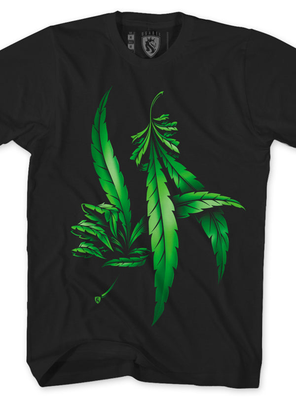 Men's LA Weed Hands Tee by OG Abel