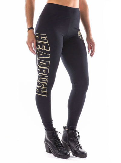 Women's Leave Me Alone Leggings by Headrush Brand