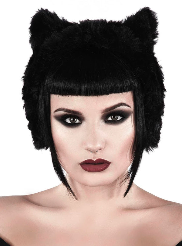 Le Chat Noir Ear Muffs by Killstar
