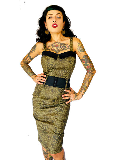 Women's Leopard Darling Dress by Switchblade Stiletto