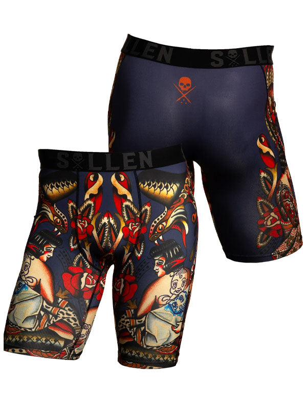 Men's Lesh Arroyo Boxers by Sullen