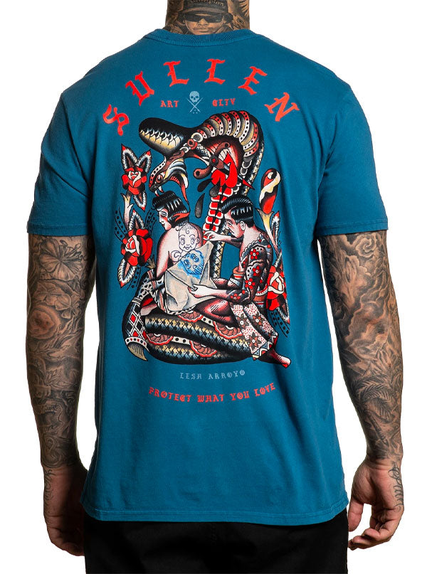 Men's Lesh Arroyo Tee by Sullen