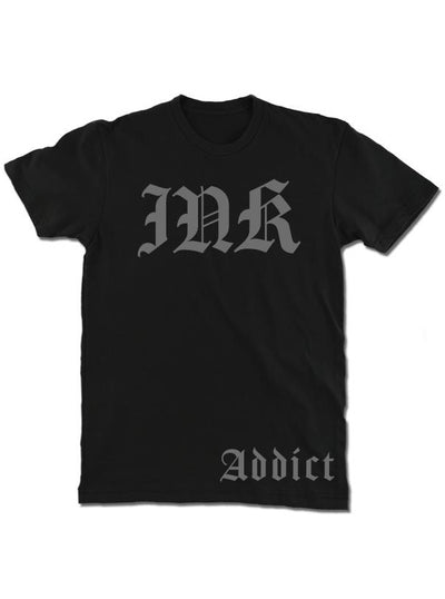 Men's Ink Lettering Tee by InkAddict