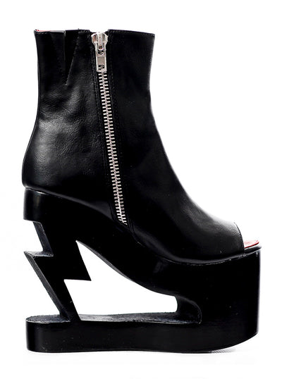 Women's Lightning Crashes Boots by Charla Tedrick