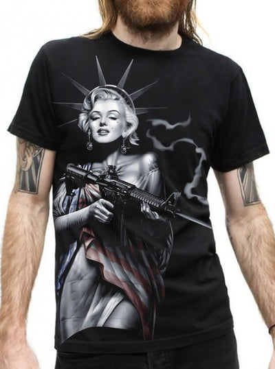 "Men's ""OG Liberty 017"" Tee by OG Abel (Black)"
