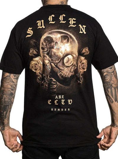 "Men's ""Life And Death"" Tee by Sullen (Black)"