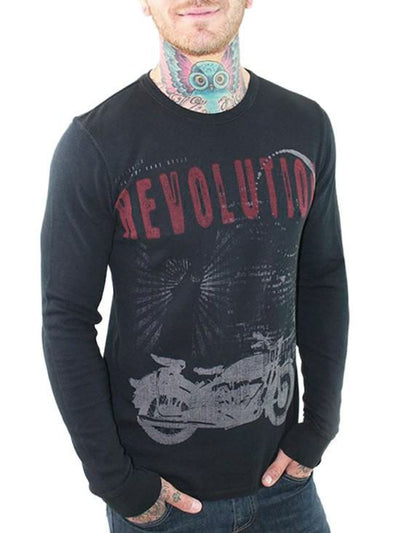 "Men's ""Live Fast"" Thermal by 7th Revolution - InkedShop - 1"