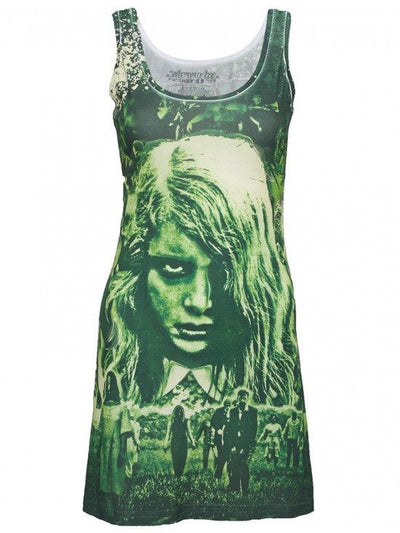 "Women's ""Night of The Living Dead"" Tank Dress by Kreepsville 666 - InkedShop - 1"