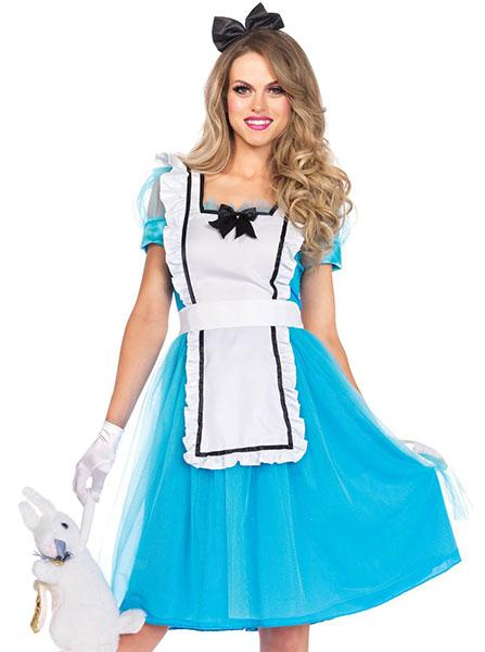 "Women's ""Classic Alice"" Costume by Leg Avenue (Blue)"
