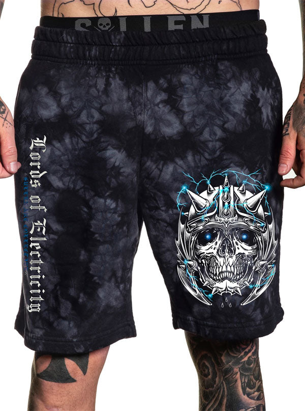 Men's Lords Fleece Shorts by Sullen