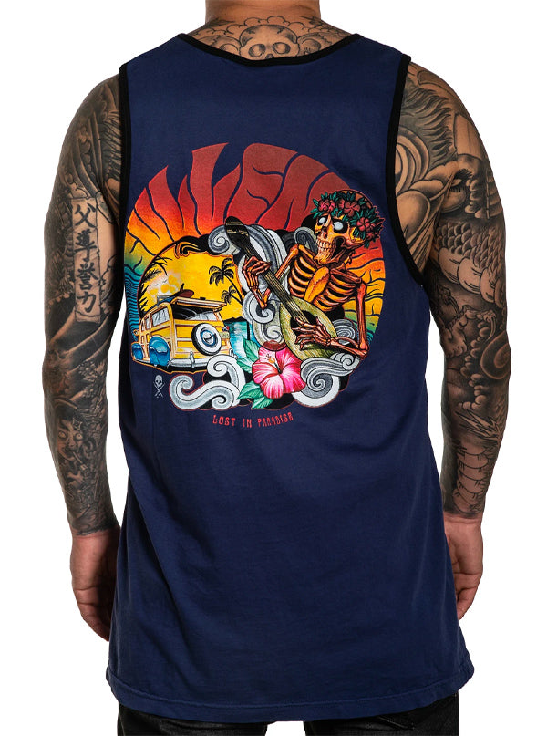 Men's Lost In Paradise Tank by Sullen
