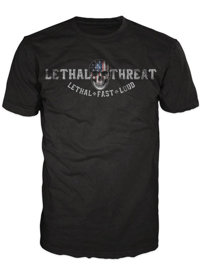 "Men's ""Love It Or Leave It"" Tee by Lethal Threat (Black) - www.inkedshop.com"